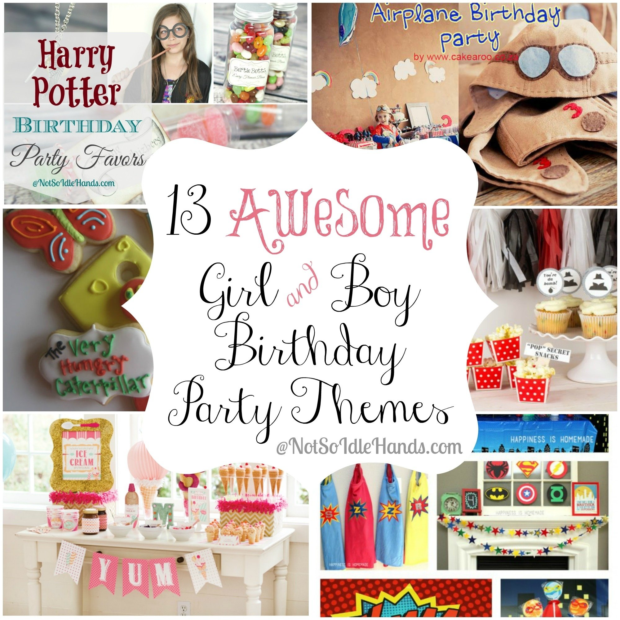 10 Stylish Party Ideas For 13 Year Old Boy 13 awesome girl and boy birthday party themes 1