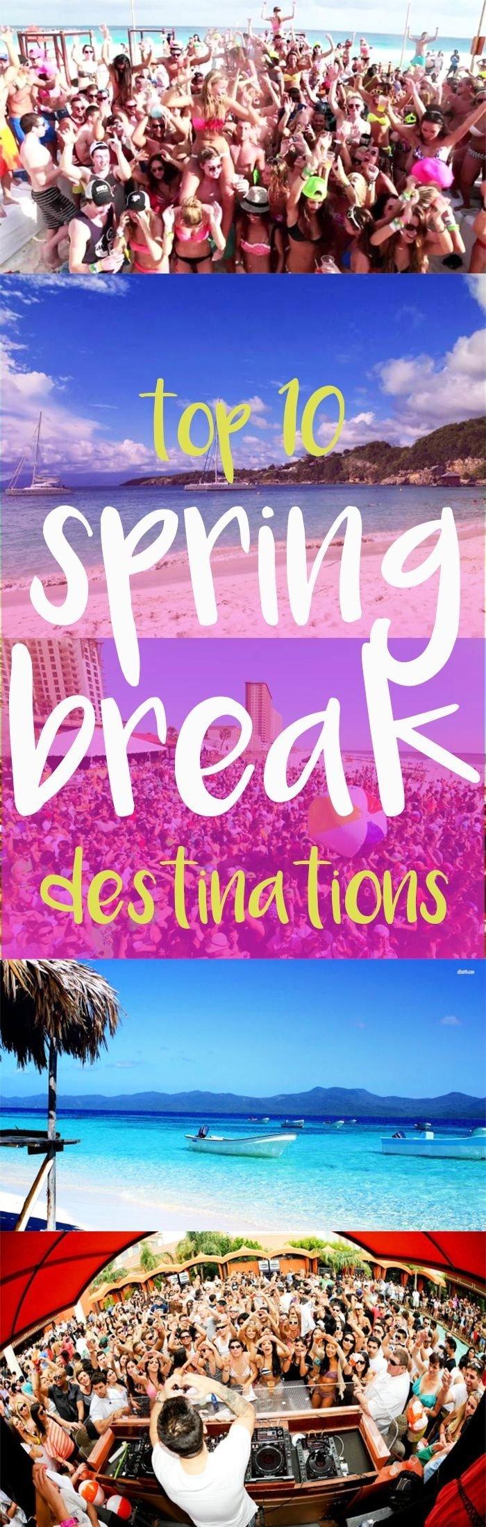 10 Stylish Cheap Spring Break Ideas For College Students 13 best spring break destinations images on pinterest spring break 1 2020
