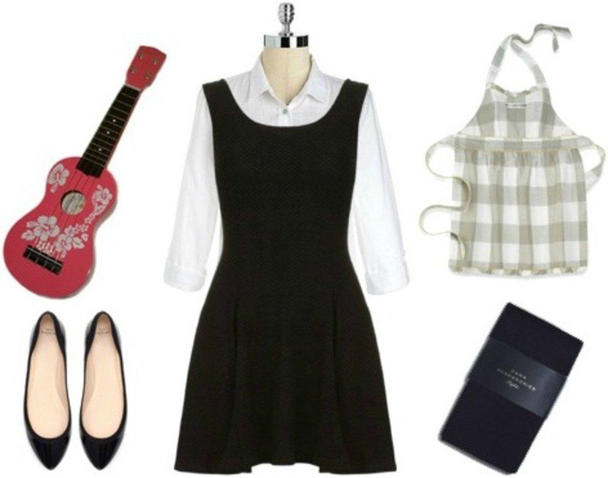10 Attractive Little Black Dress Costume Ideas 13 black dress halloween costume ideas college fashion 1 2020