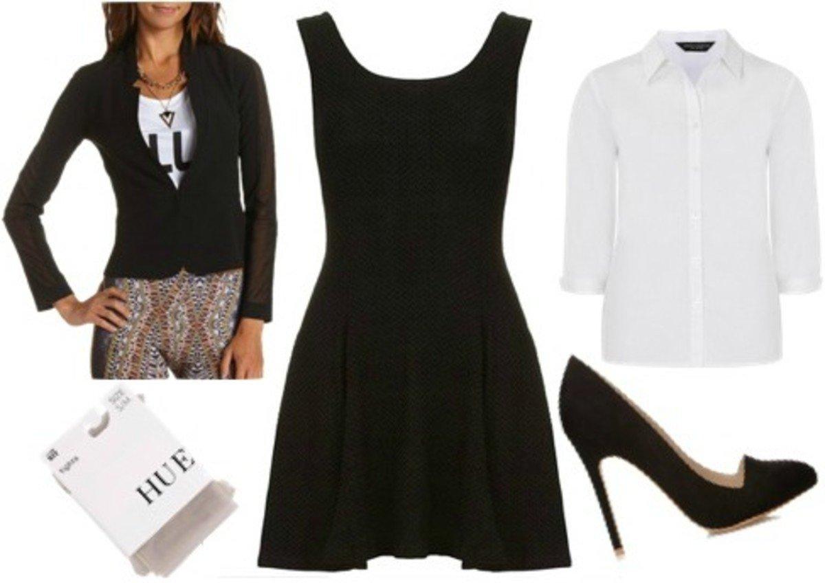 10 Attractive Little Black Dress Costume Ideas 13 black dress halloween costume ideas college fashion 2 2020