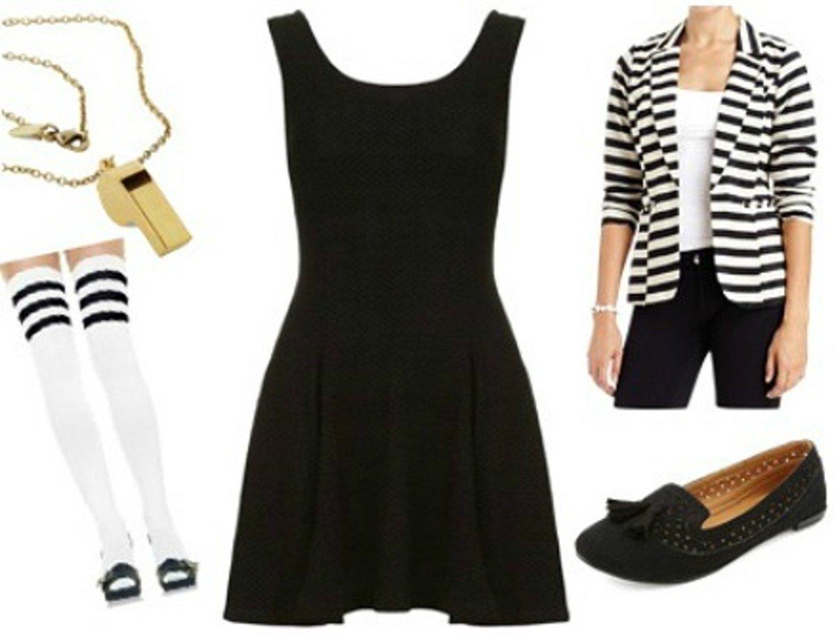 10 Attractive Little Black Dress Costume Ideas 13 black dress halloween costume ideas college fashion 3 2020