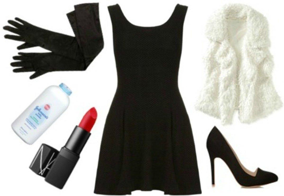 13 black dress halloween costume ideas - college fashion