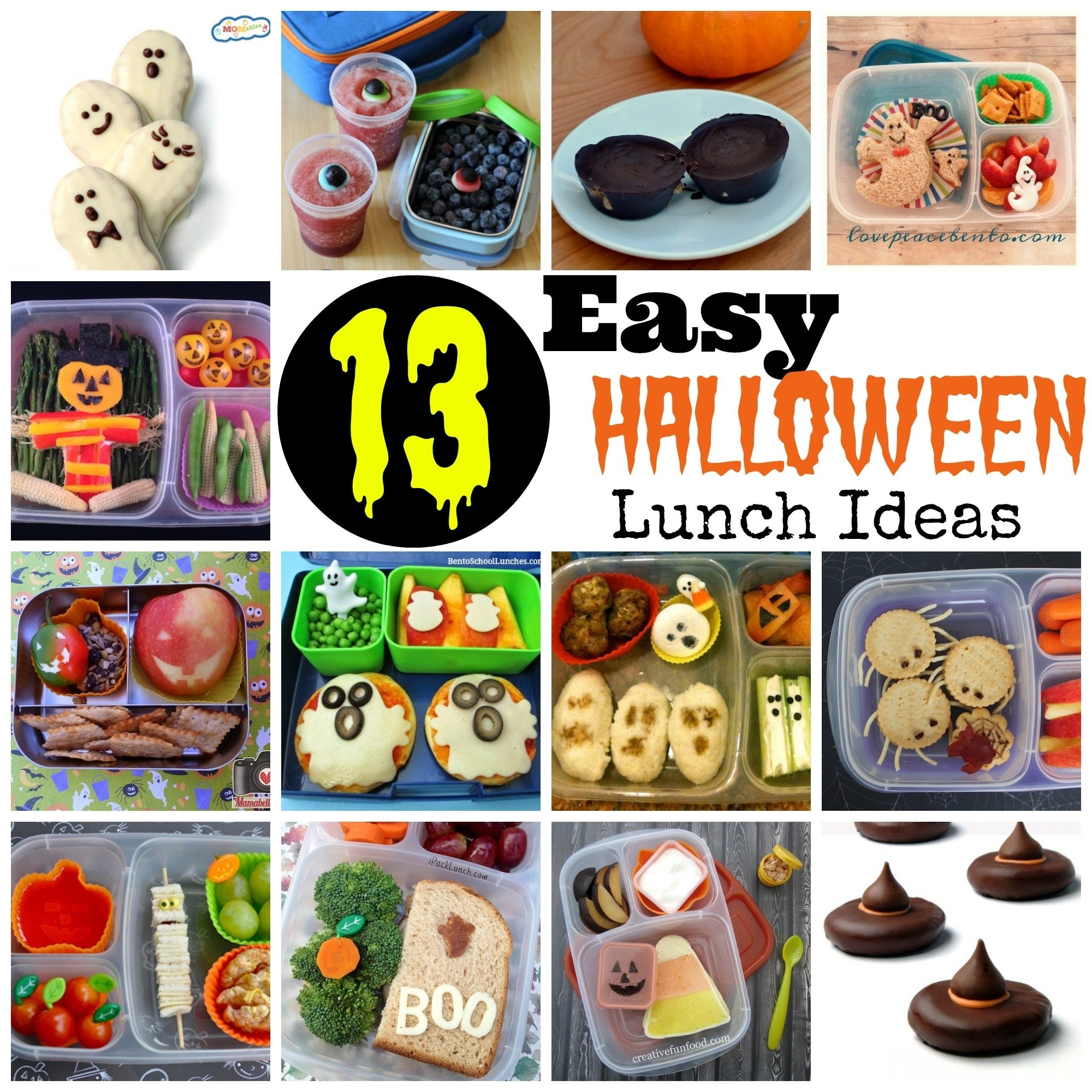 10 Most Recommended Halloween Lunch Ideas For Kids 13 easy halloween lunch ideas 2 2021