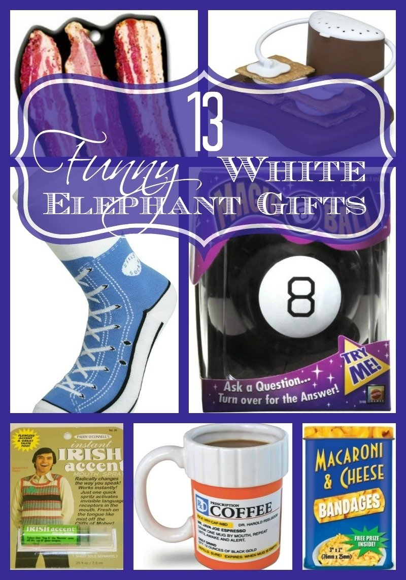 10 Pretty Ideas For White Elephant Gifts 13 funny white elephant gifts family friendly happy money saver 2020