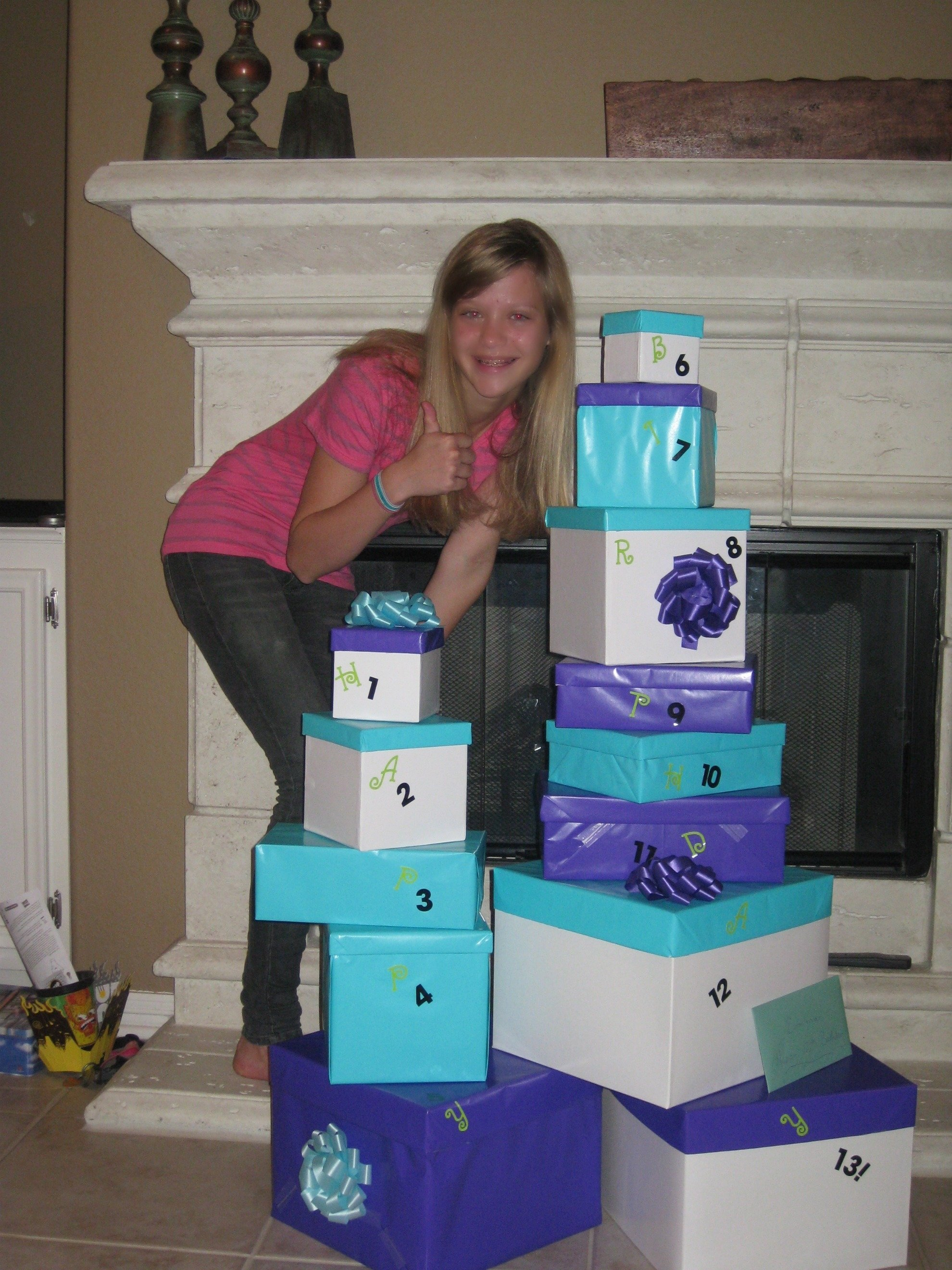 13 gifts for my girls 13th birthday! | nifty idea! | pinterest