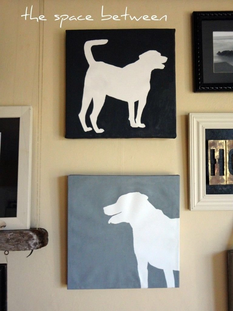 10 Great Gift Ideas For Animal Lovers 13 gifts for pet lovers to make dog silhouette silhouettes and 2020