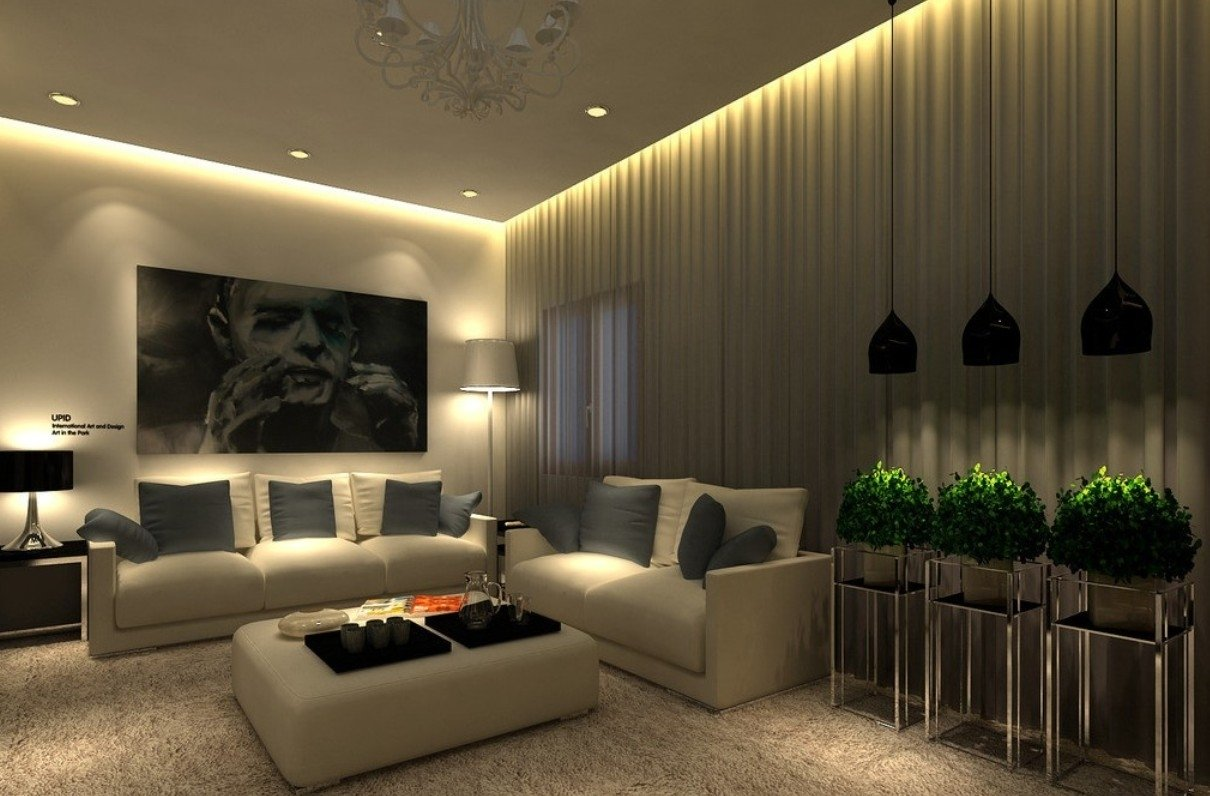 10 Famous Lighting Ideas For Living Room 13 hidden lights ideas for living room that will inspire you top 2021