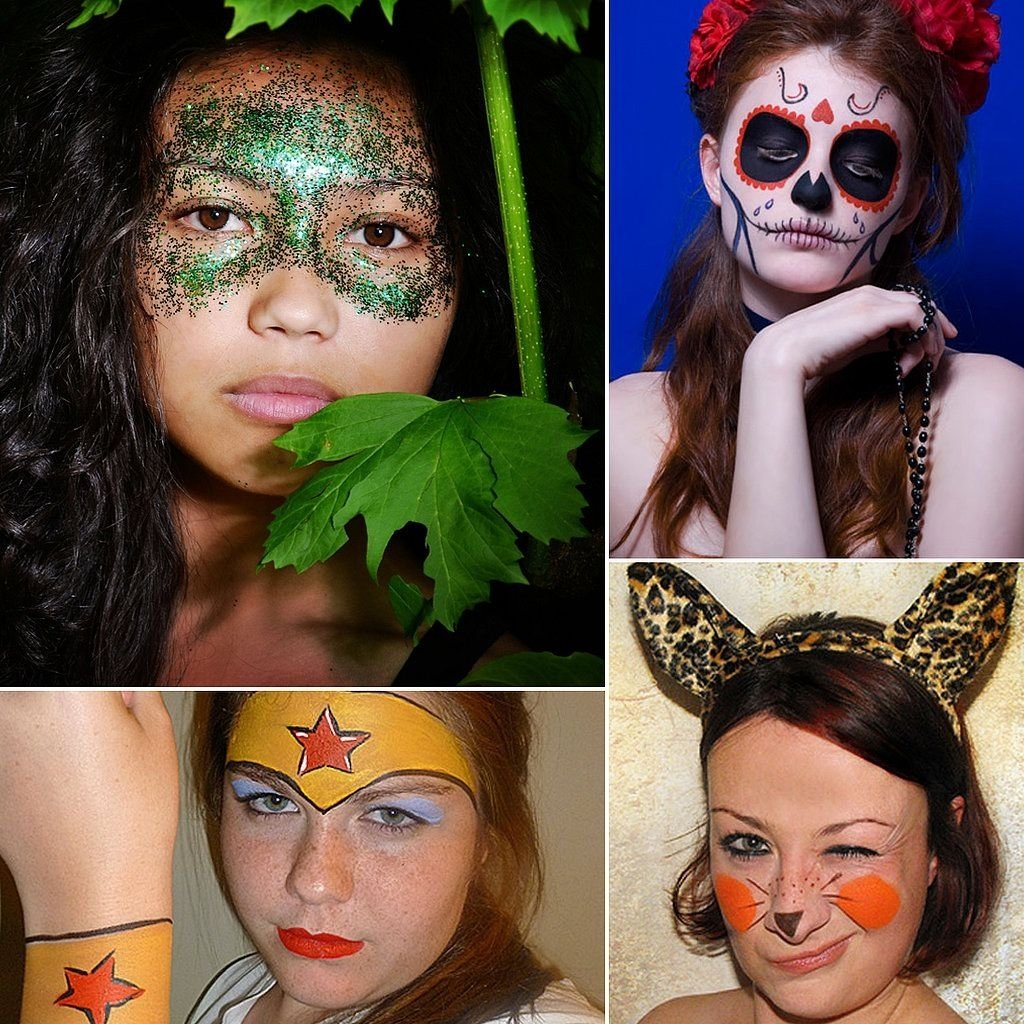 10 Stylish Make Your Own Halloween Costume Ideas 13 lazy girl halloween costumes that only require face paint 5 2020