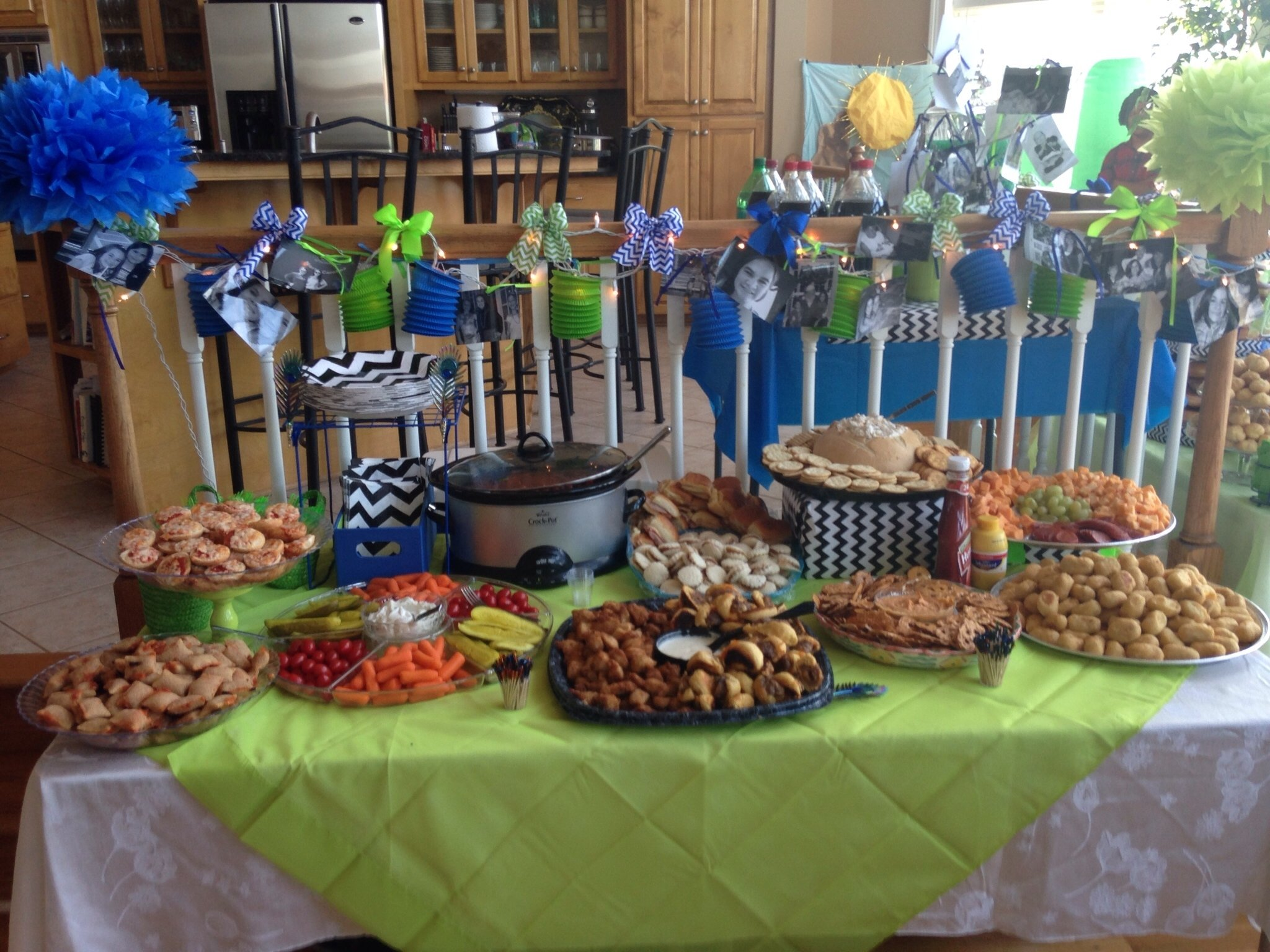 13 year old birthday party appetizer buffett | madison's 13th