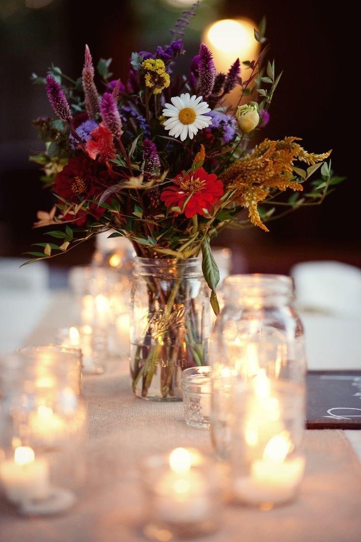 10 Ideal Mason Jar Wedding Centerpieces Ideas 134 best images about wedding shower centerpieces in mason jars 1 2020
