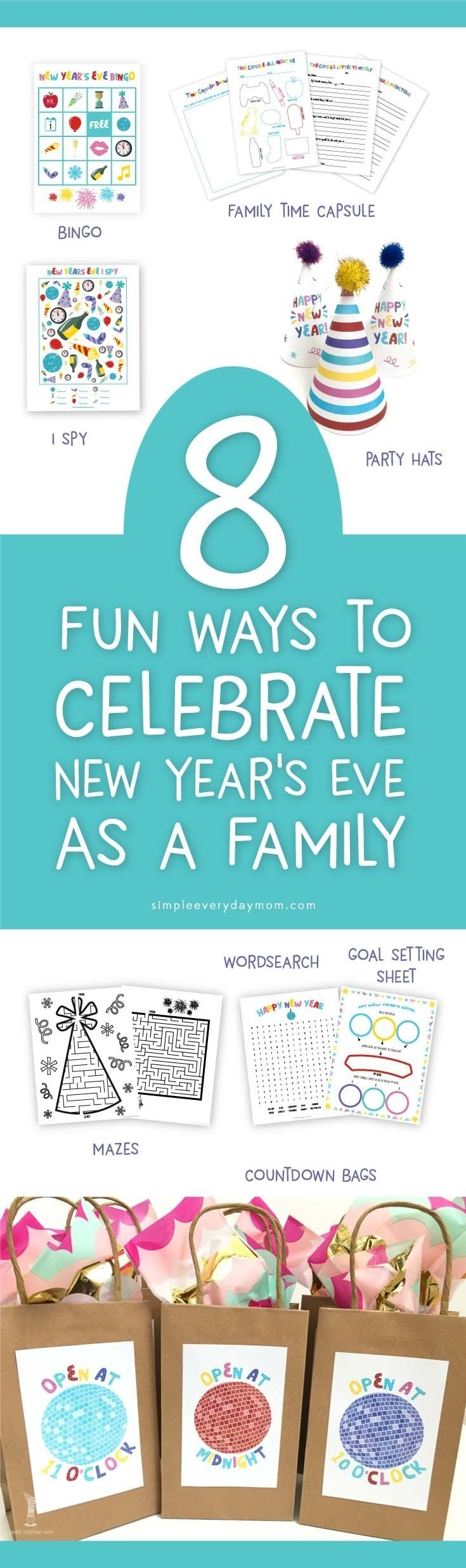 10 Stunning Family Ideas For New Years Eve 137 best new years for kids images on pinterest new years eve 2020