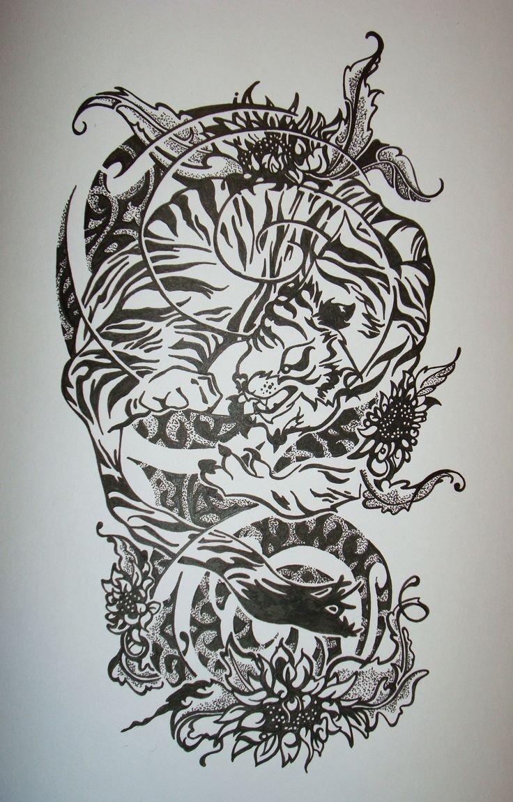10 Stunning Ideas For Half Sleeve Tattoos 14 best sleeve tattoo designs black images on pinterest arm 2020