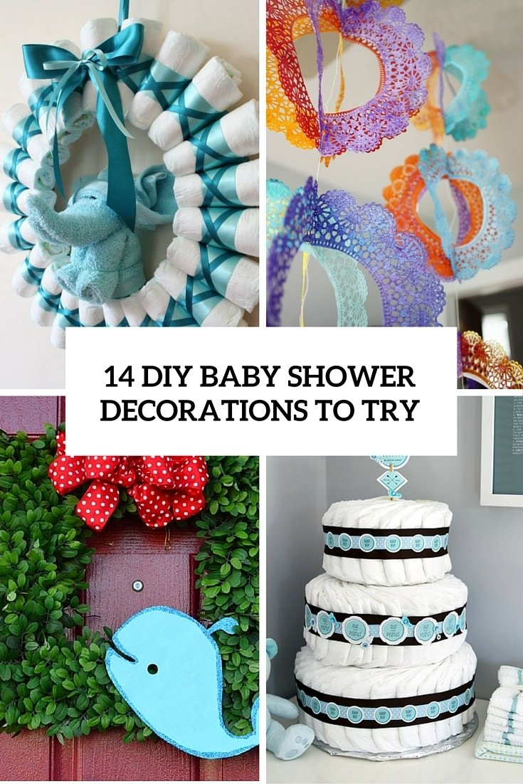 10 ideal do it yourself baby shower ideas