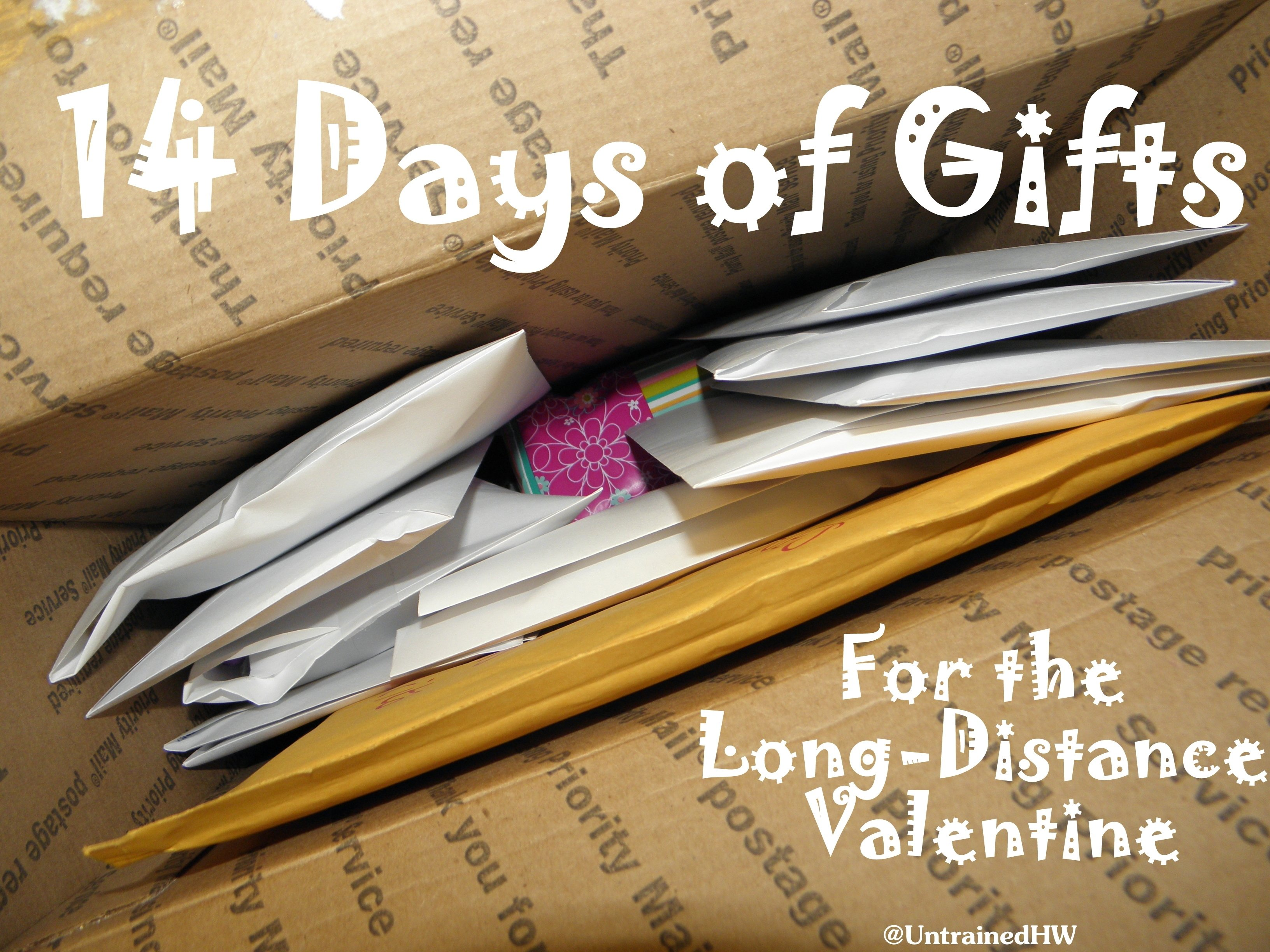10 Wonderful Cute Ideas For Long Distance Relationships 14 days of gifts for the long distance valentine 2020