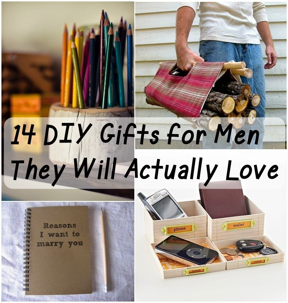 10 Attractive Birthday Delivery Ideas For Men 14 diy gifts for men they will actually love handmade gifts 2021