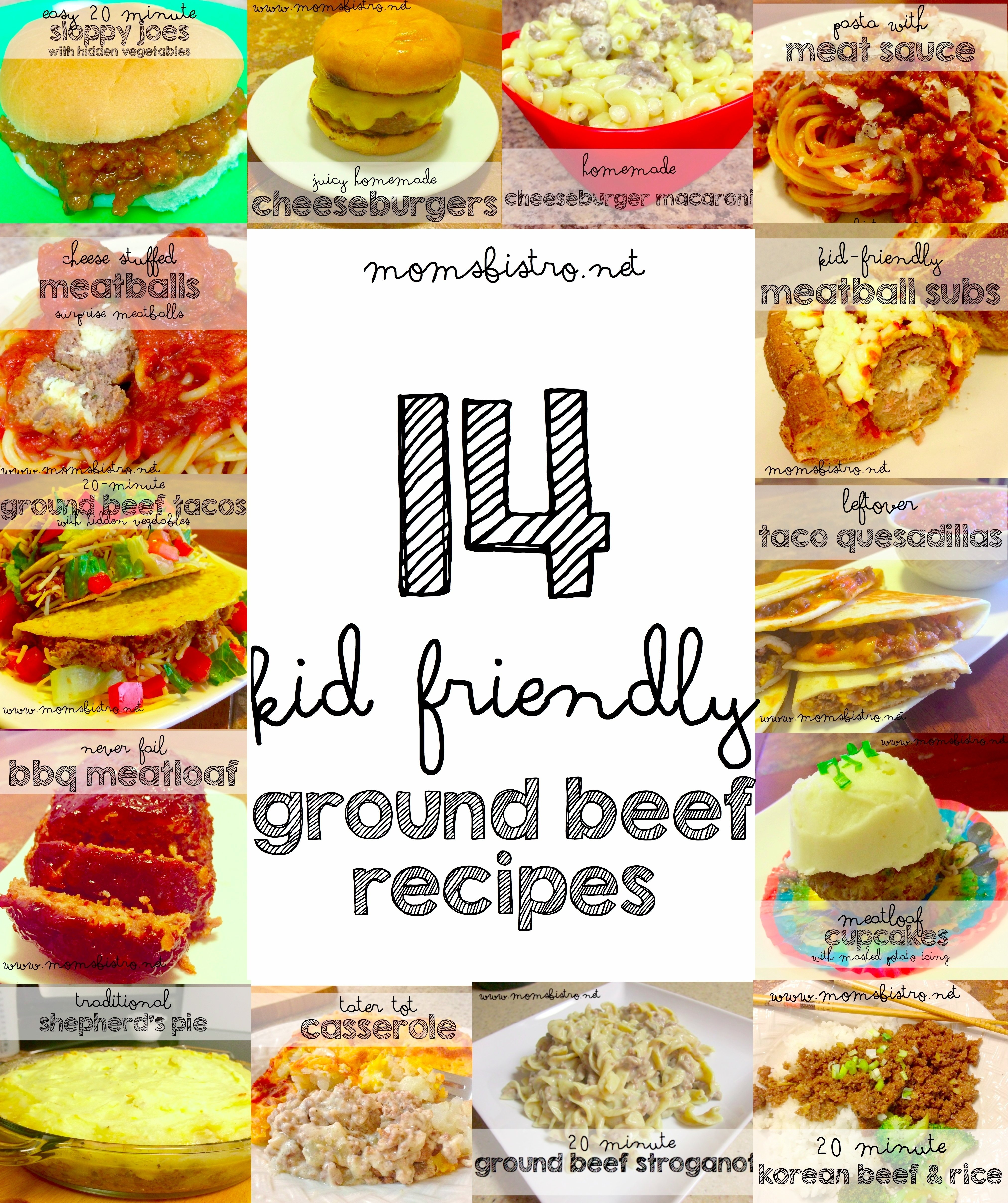10 Lovable Easy Meal Ideas For Kids 14 easy kid friendly ground beef recipes to try for dinner tonight 13 2020