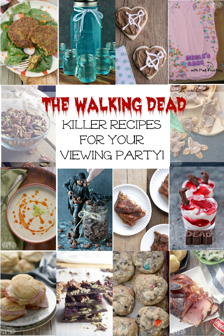 10 Unique Walking Dead Party Food Ideas 14 killer recipes for your walking dead viewing party recettes 2020