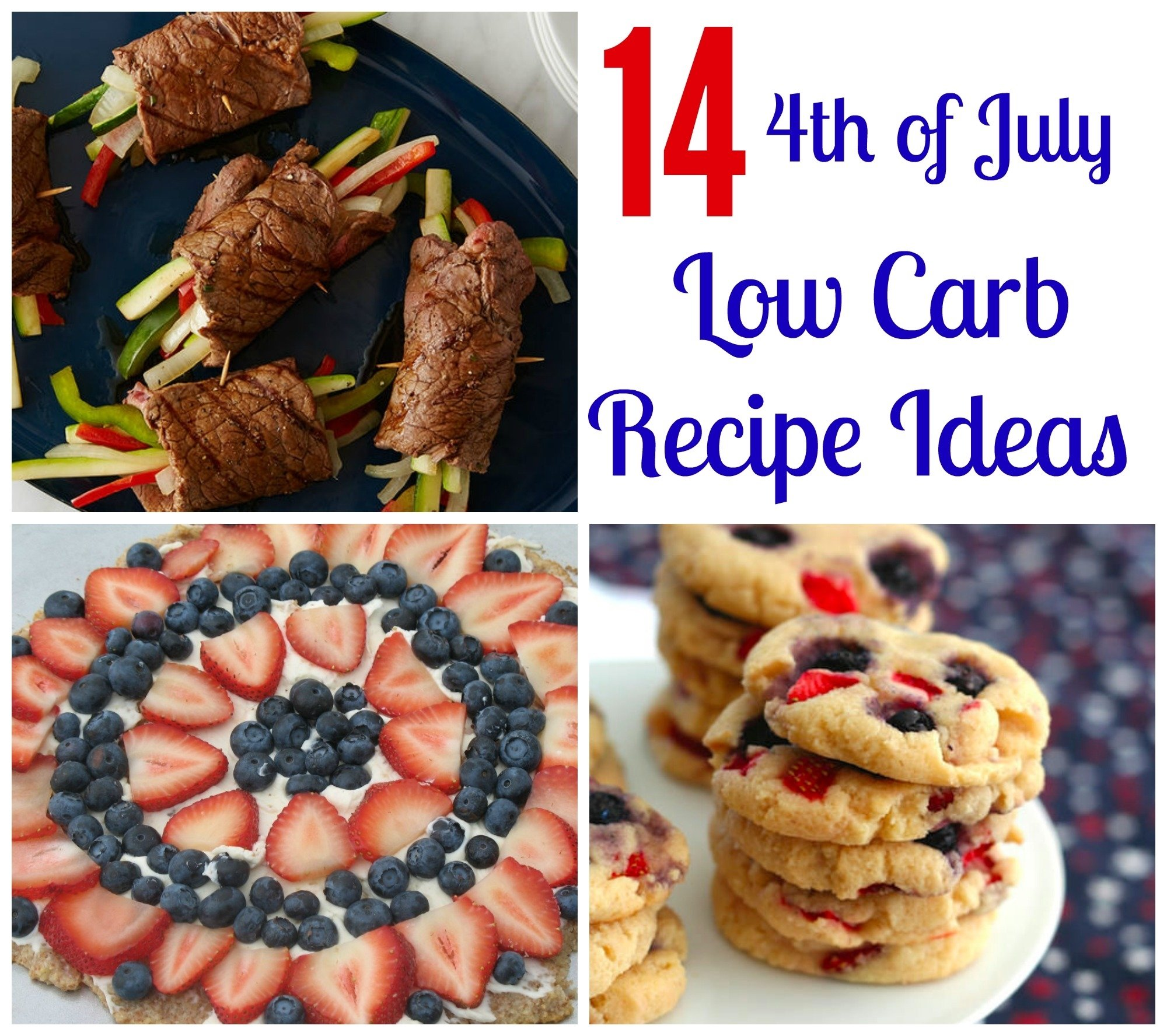 10 Most Recommended 4Th Of July Recipe Ideas 14 low carb recipes for the 4th of july sarah scoop 2021