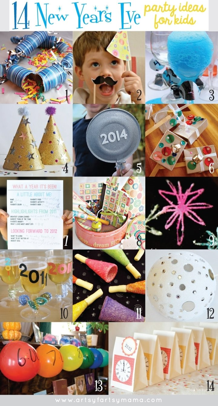 10 Cute New Years Eve Party Ideas For Kids 14 new years eve party ideas for kids artsy fartsy mama 2 2020
