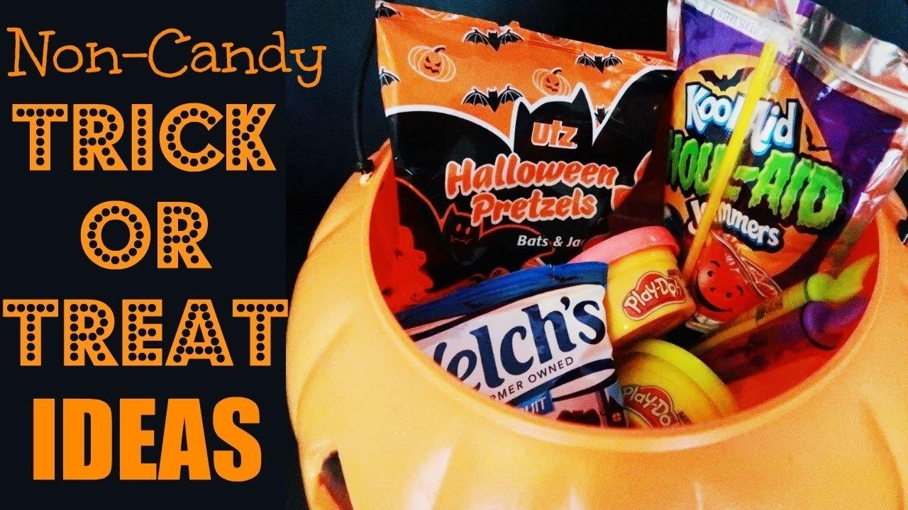 10 Attractive Halloween Trick Or Treat Ideas 14 non candy trick or treating ideas for halloween f09f91bb youtube 2021