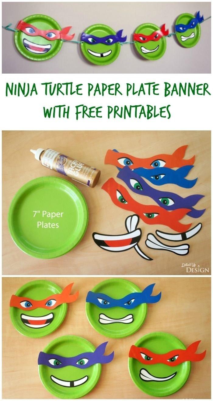 10 Fantastic Ninja Turtles Birthday Party Ideas 141 best teenage mutant ninja turtles party ideas images on 2 2020