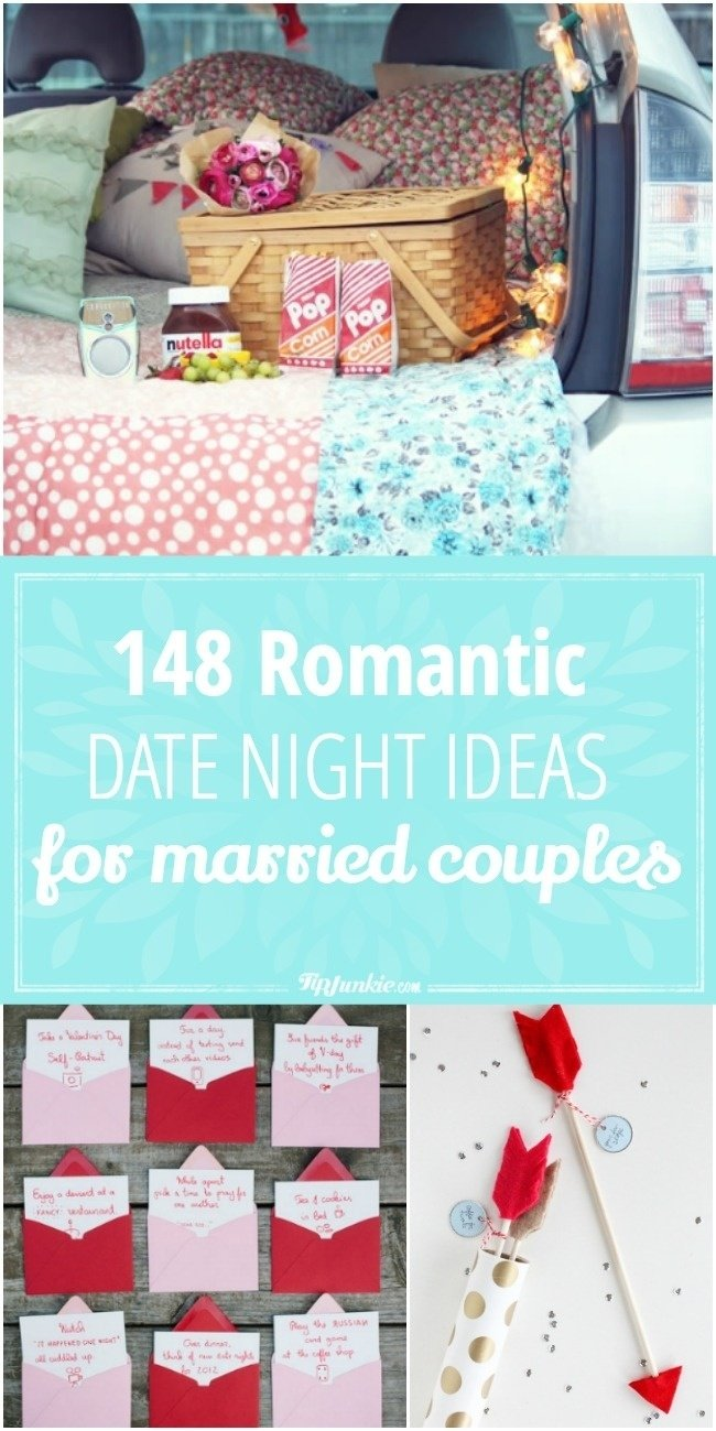 10 Spectacular Dating Ideas For Married Couples 148 romantic date night ideas for married couples tip junkie 2020