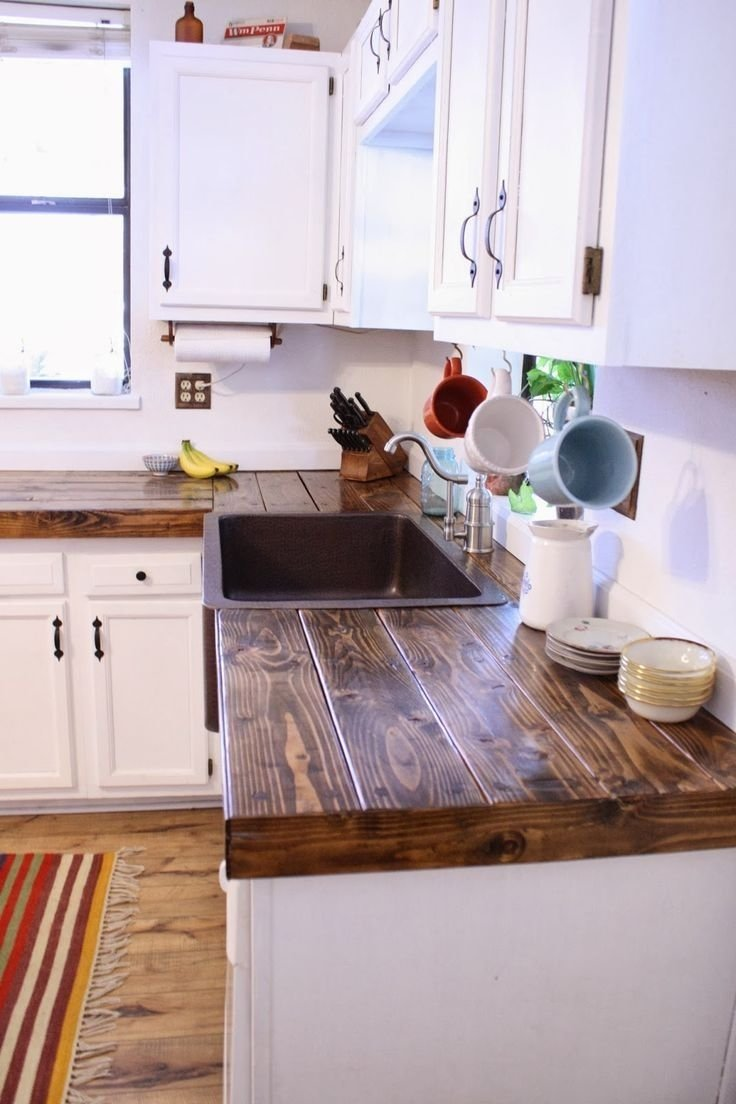 15 awesome diy wood countertops style decorating ideas | diy wood