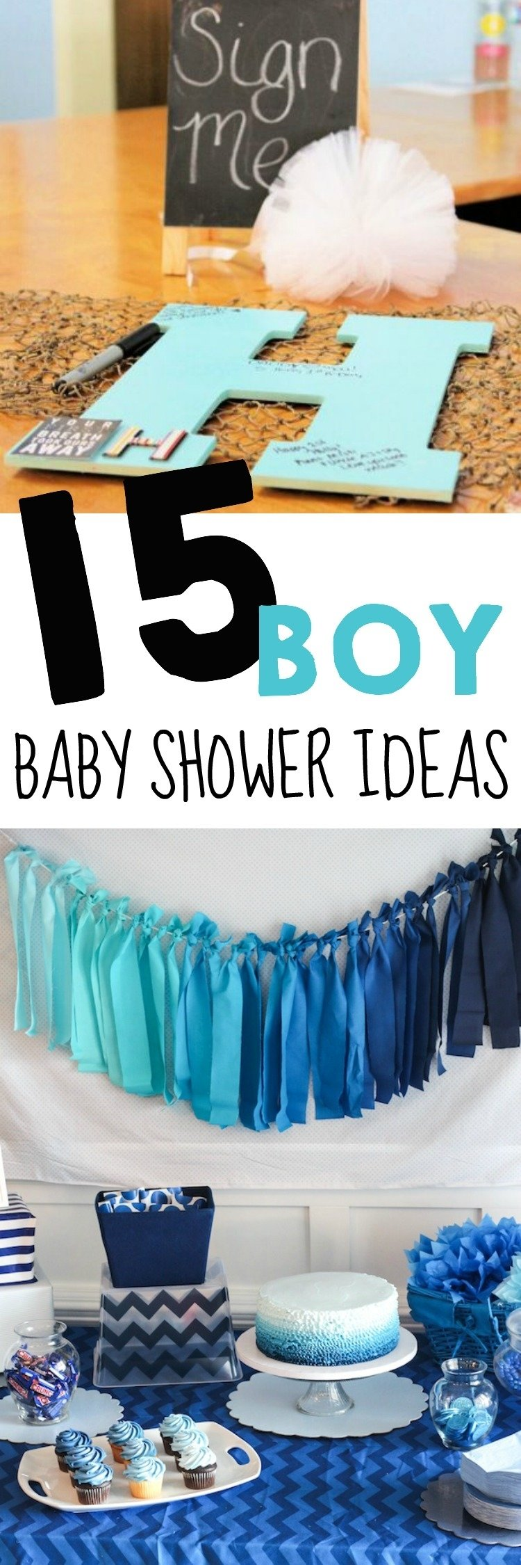 10 Great Ideas For Baby Boy Shower 15 baby shower ideas for boys the realistic mama 8 2020