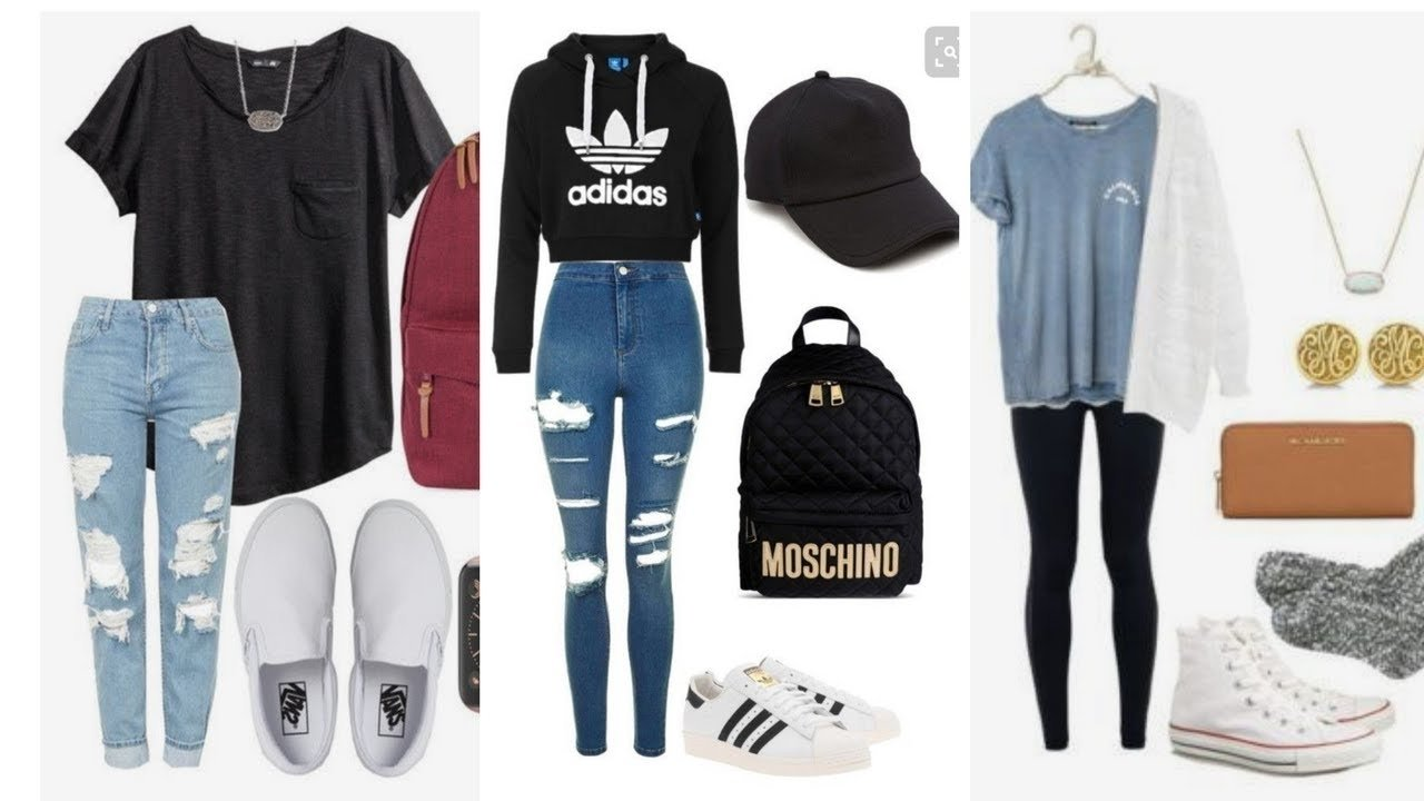 15 back to school/college outfit ideas//pinterest style! - youtube