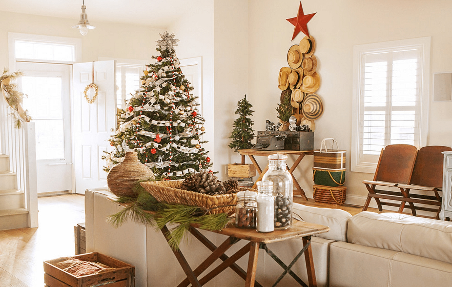 10 Pretty Christmas Decorations Ideas For Living Room 15 beautiful ways to decorate the living room for christmas 2021