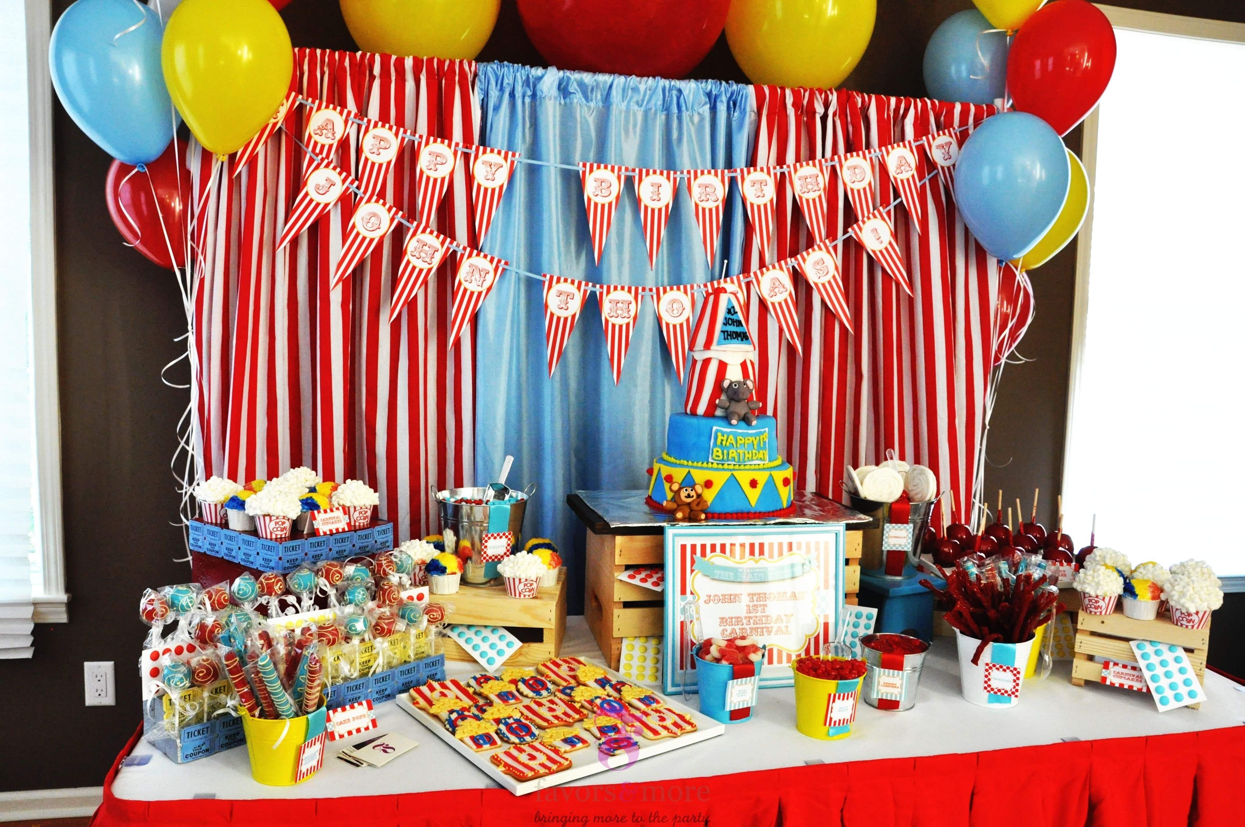 15 best carnival birthday party ideas | birthday inspire
