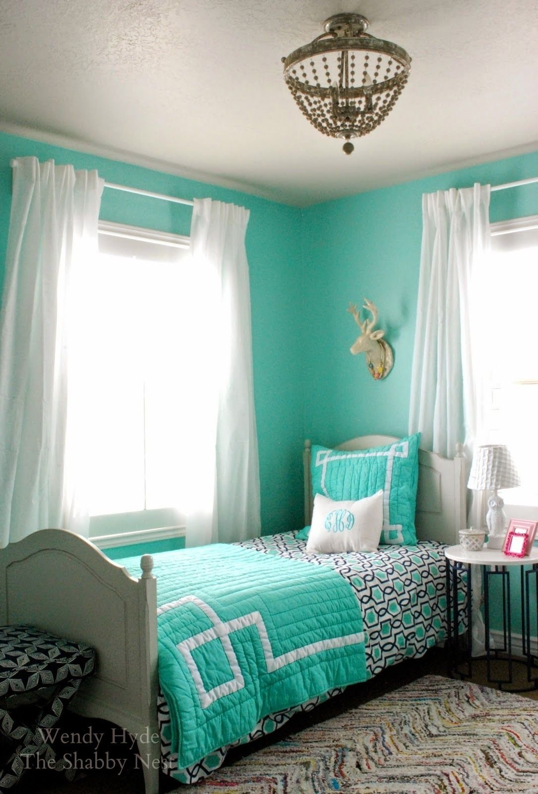 10 Attractive Blue And Green Bedroom Ideas 15 best images about turquoise room decorations room walls and 2021