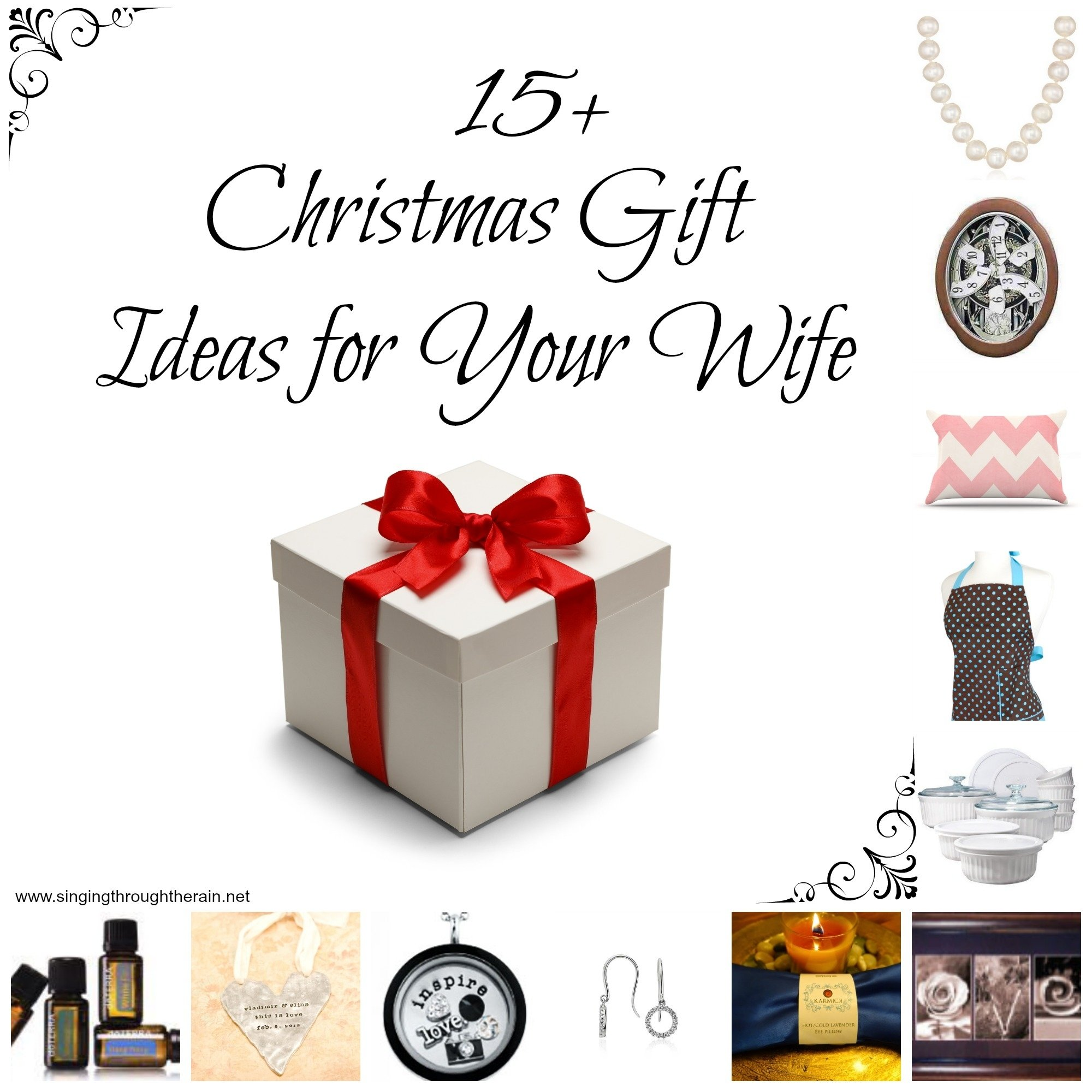 10 Gorgeous Christmas Gift Ideas For Wives 15 christmas gift ideas for your wife singing through the rain 11 2021