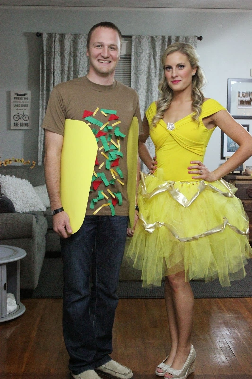 10 Unique Homemade Costume Ideas For Couples 15 diy couples and family halloween costumes couples diy costumes