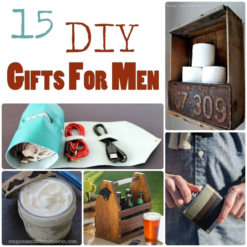 15 diy gifts for men | the craftiest couple
