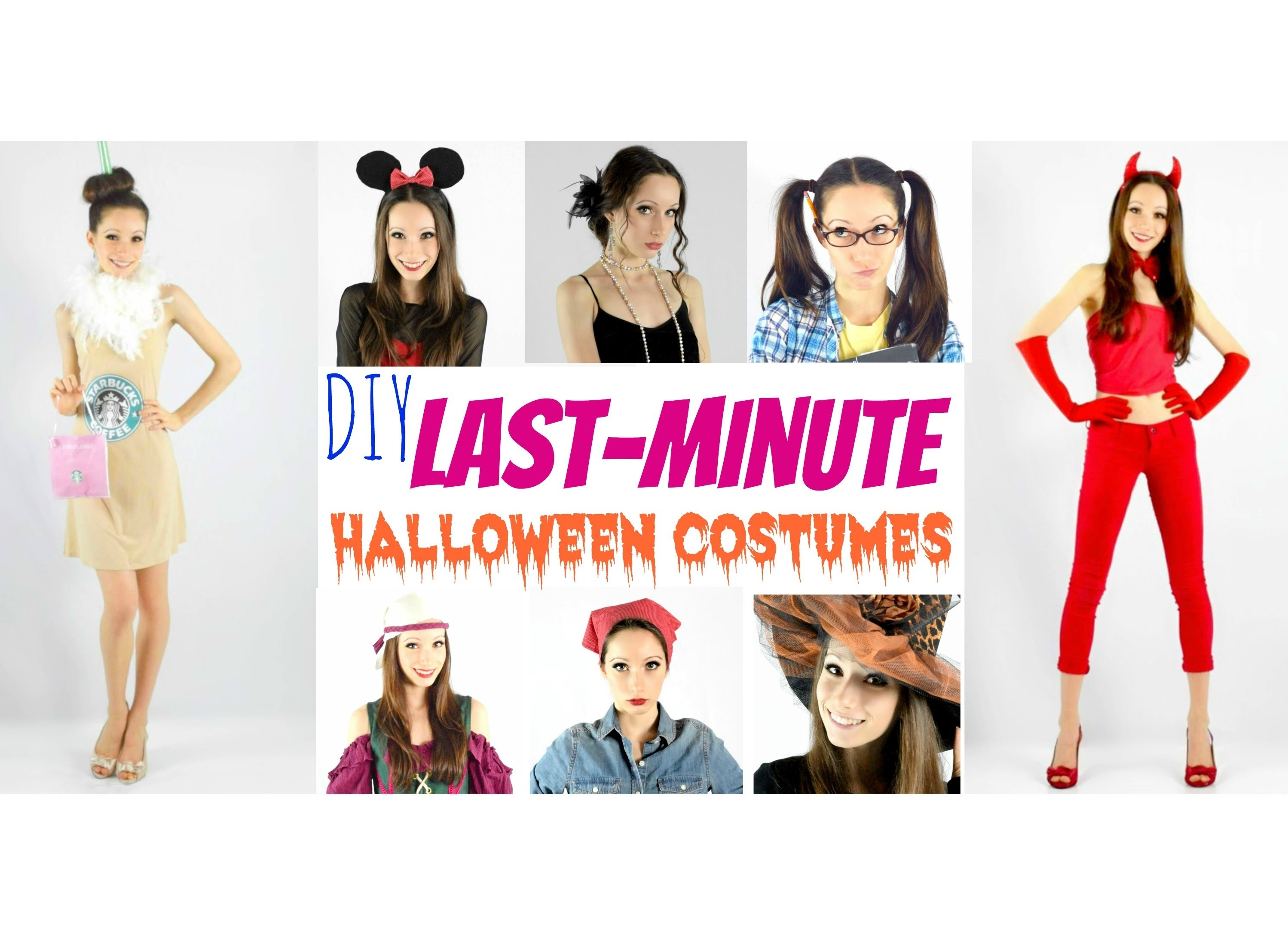 10 Elegant Quick Easy Halloween Costume Ideas 15 diy halloween costumes 3 2021