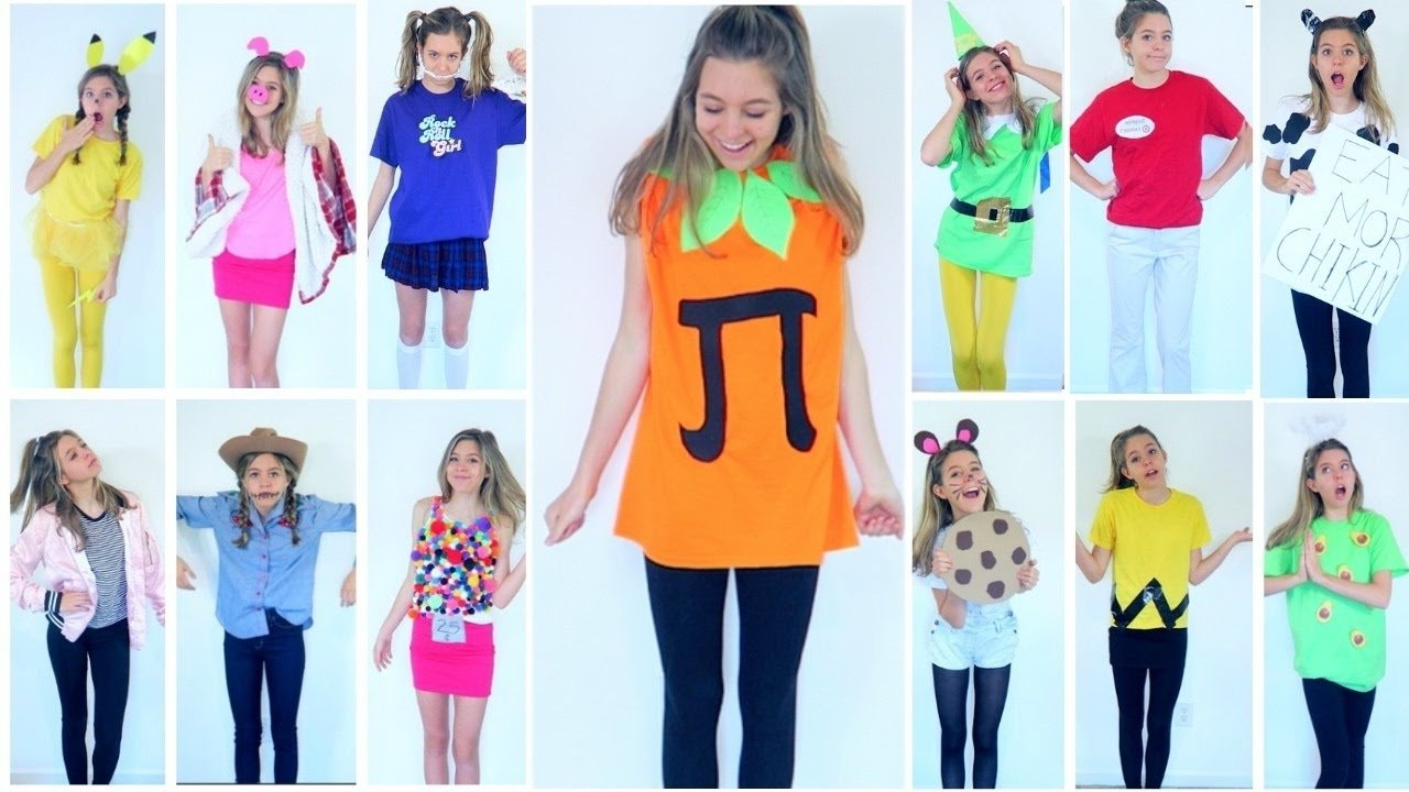 10 Cute Last Minute Halloween Costume Ideas 15 diy last minute halloween costumes easy fast and cheap 5 2021
