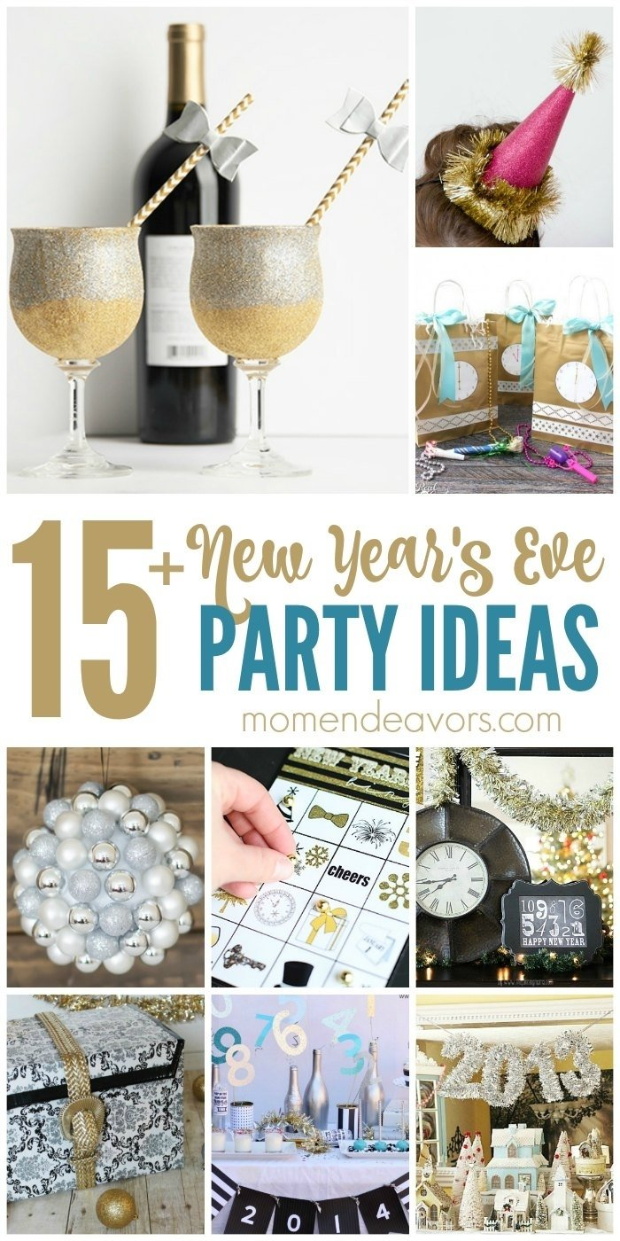 10 Attractive Ideas For New Years Eve Parties 15 diy new years eve party ideas 1 2020