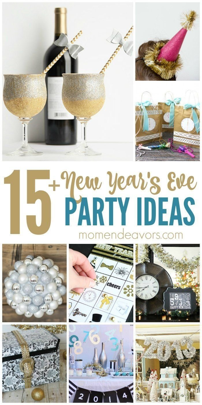 10 Most Recommended Ideas For New Years Eve Party 15 diy new years eve party ideas nye holidays and party planning 1 2020