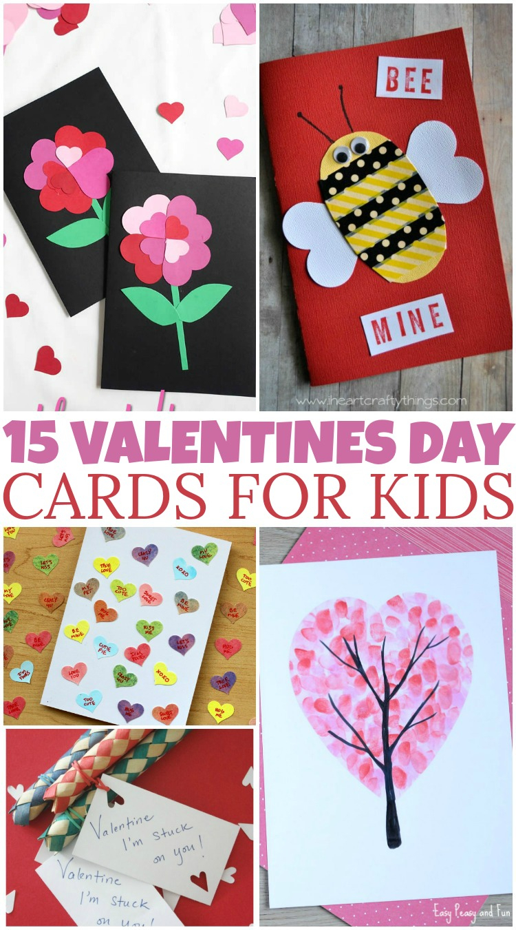 10 Best Valentine Card Ideas For Kids To Make 15 diy valentines day cards for kids british columbia mom 2020