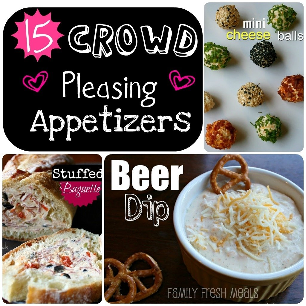 10 Awesome Luncheon Ideas For A Crowd 15 easy crowd pleasing appetizers family fresh meals 2020