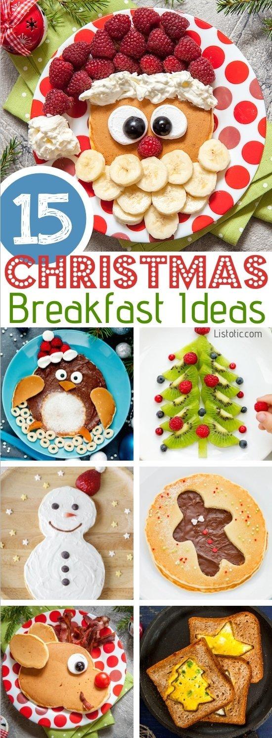 10 Lovely Christmas Breakfast Ideas For Kids 15 fun easy christmas breakfast ideas for kids 4 2020