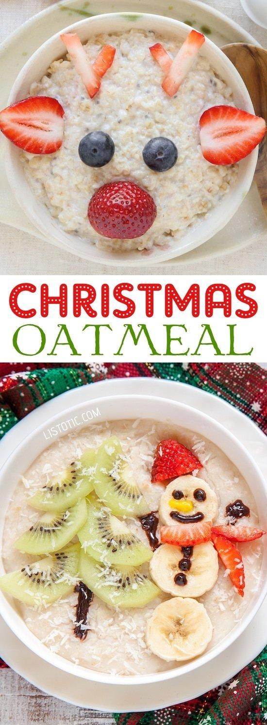 15+ fun & easy christmas breakfast ideas for kids