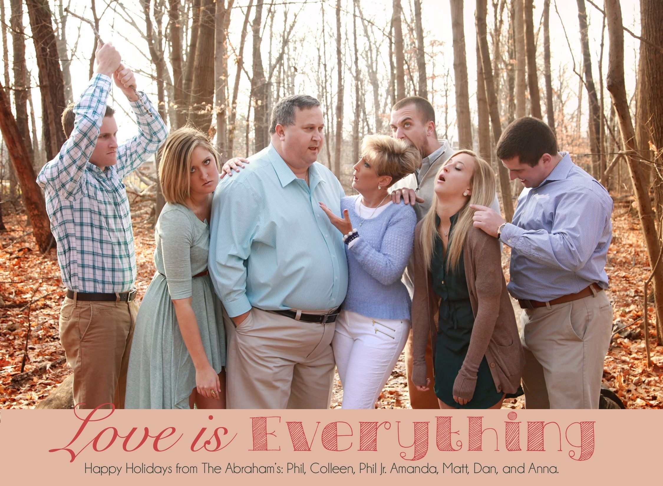 10 Perfect Funny Christmas Card Picture Ideas 15 funny christmas cards youll wish your family thought of first 2 2020