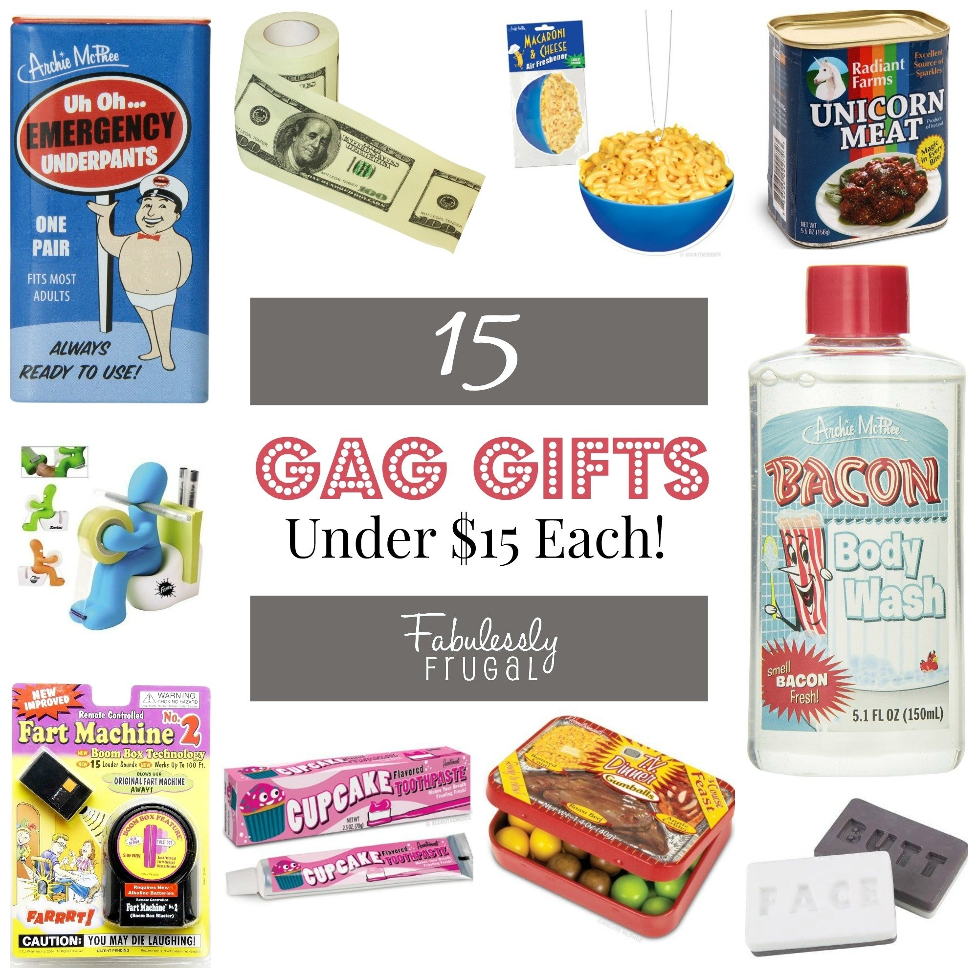 10 Amazing Gag Gift Ideas Christmas Party