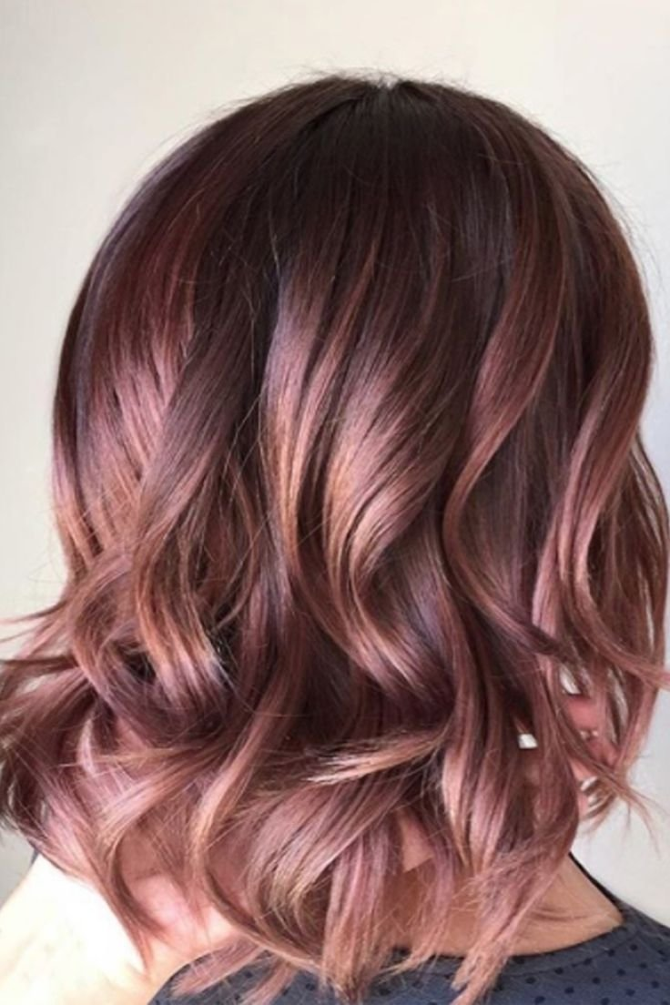 10 Perfect Funky Hair Color Ideas For Brunettes 15 gorgeous hair colors that will be huge in 2018 gorgeous hair 2021