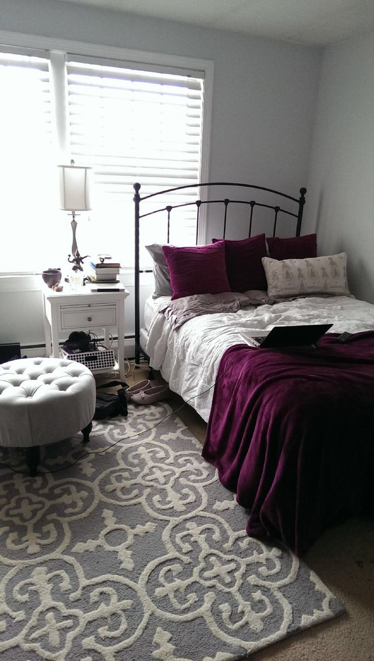 10 Pretty Ideas To Decorate Your Bedroom 15 gorgeous purple bedroom ideas bedroom pinterest bedroom