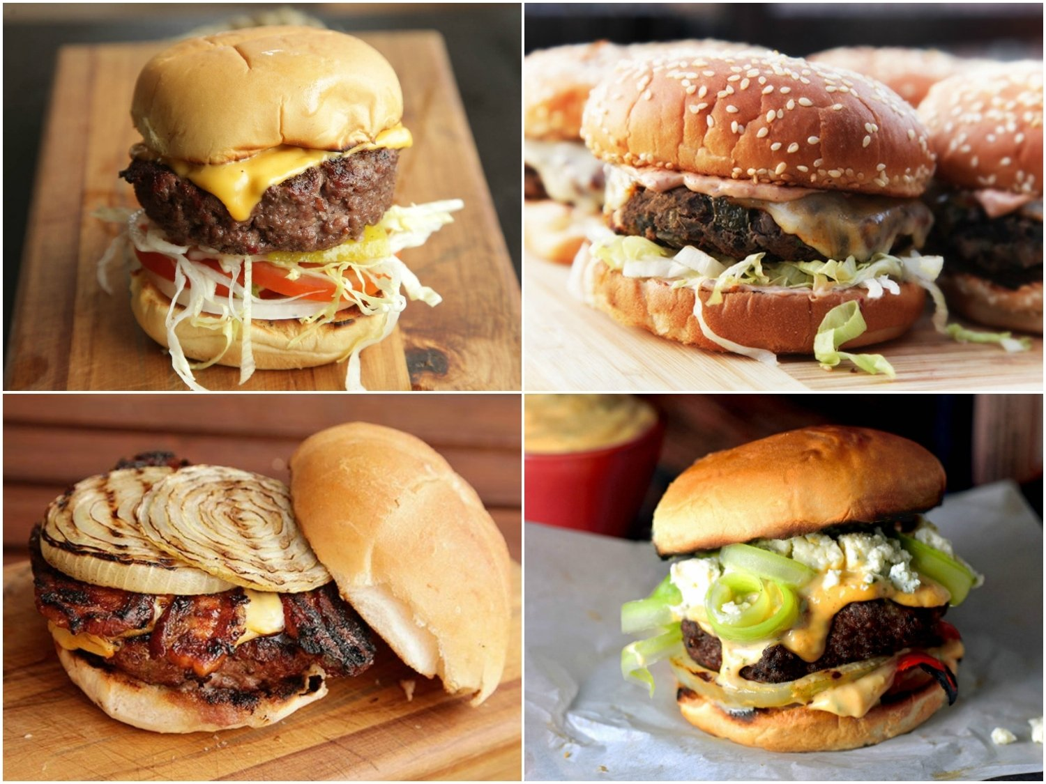 15 grilled burger recipes for memorial day | serious eats