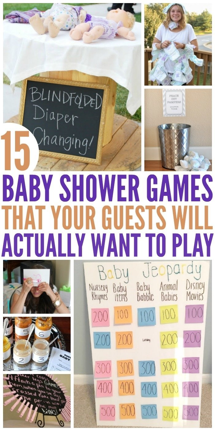 10 Most Popular Funny Baby Shower Games Ideas 15 hilariously fun baby shower games 2020
