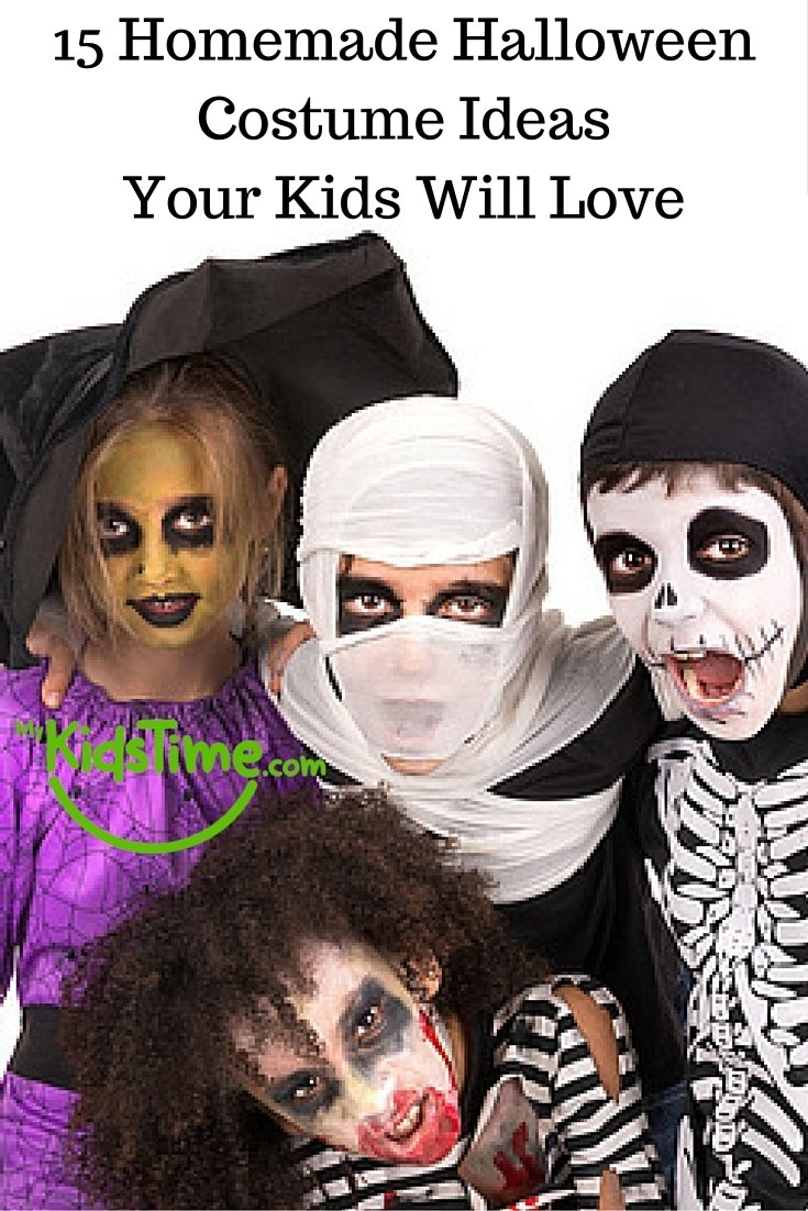10 Famous Ideas For Halloween Costumes For Kids 15 homemade halloween costume ideas your kids will love 2021